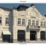 """Проект реставрації готелю """"Корона"""""""