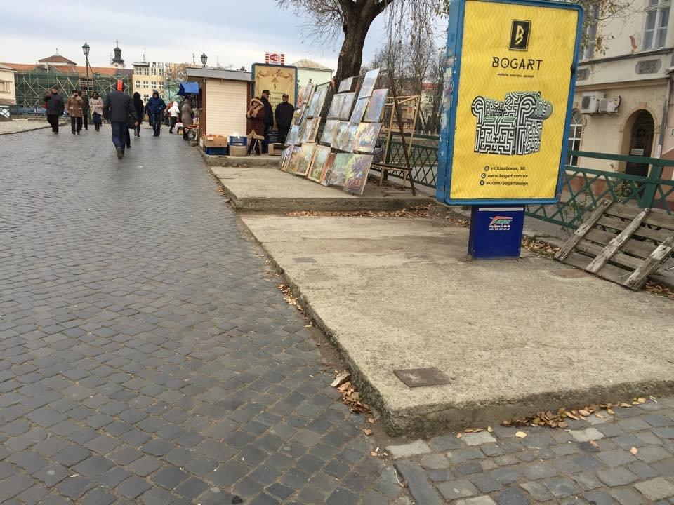 Іван Волошин зупинив Ратушнякову МАФізацію пішохідного мосту