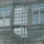Фасад ЗОШ №9 обкладають пінопластом