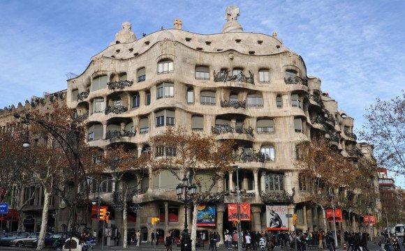 Творіння архітектора Антоніо Ґауді у престижному центрі Барселони