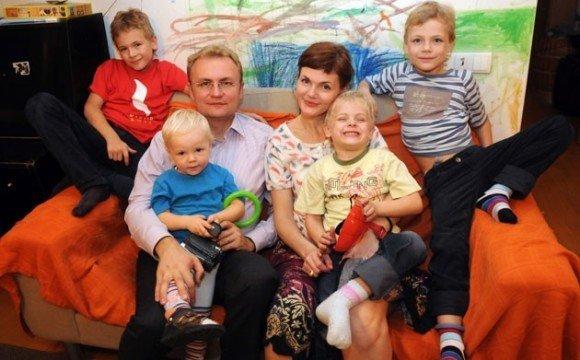 Сім'я Андрія Садового