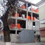 Новобудова на вулиці Мукачівській