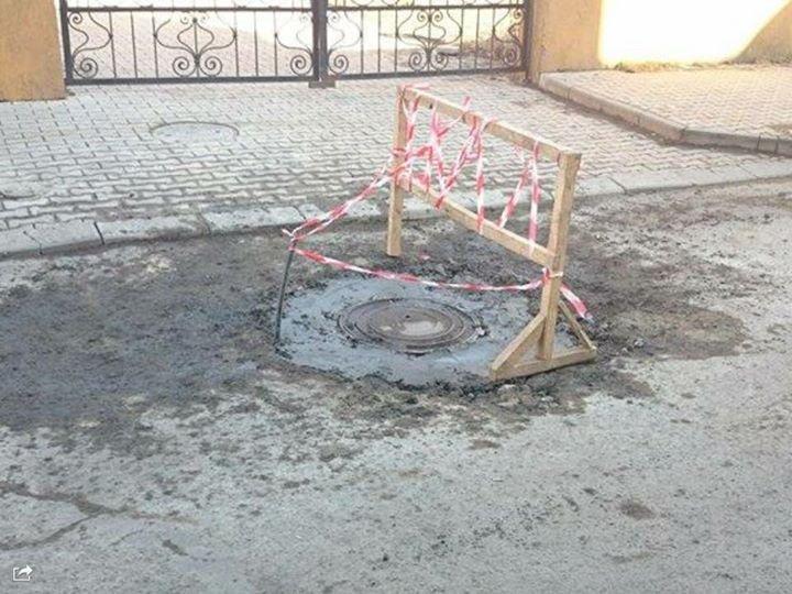 Проблема відкритих люків на вулицях Ужгорода