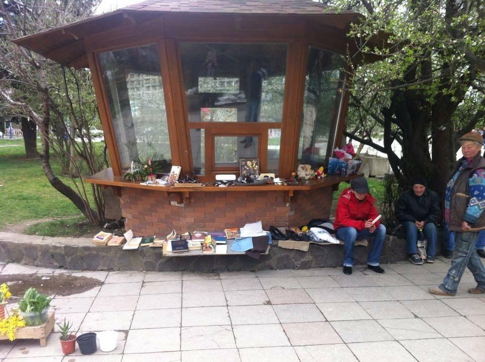Вулична торгівля в Ужгороді