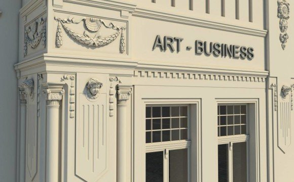 """На фасаді готелю """"Корона"""" ретельно реставрують кожну деталь"""